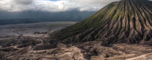 The path to Bromo