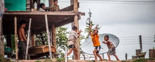 Karate Battle on the Mekong