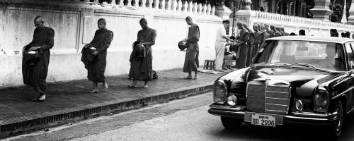 Mercedes and Monks