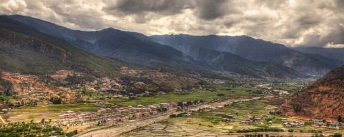View Over Paro Valley
