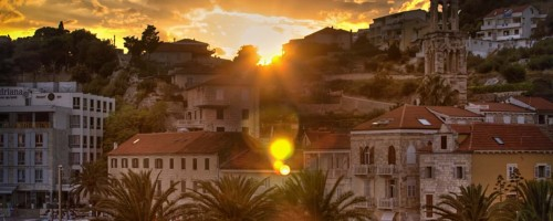 Sunset Over Hvar 2